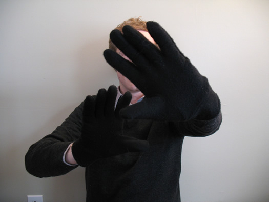 dry hands fix gloves