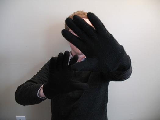 dry hands fix gloves