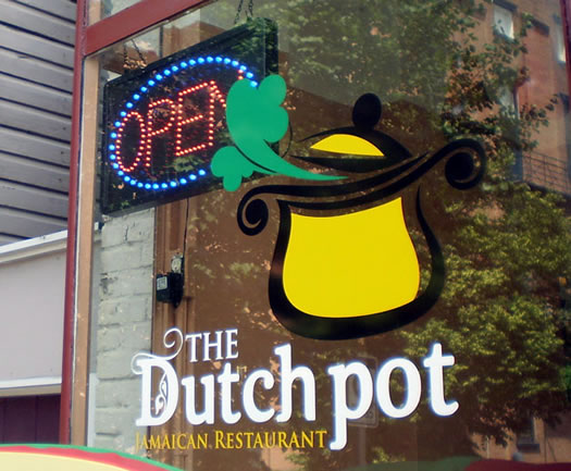 dutch pot front window