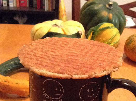 eat this stocking stuffers stroopwafel mug