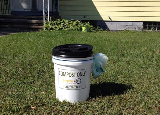 empire zero compost bucket