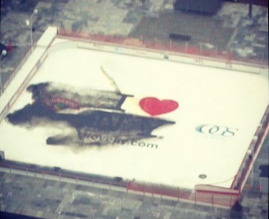 esp ice rink ink bleed