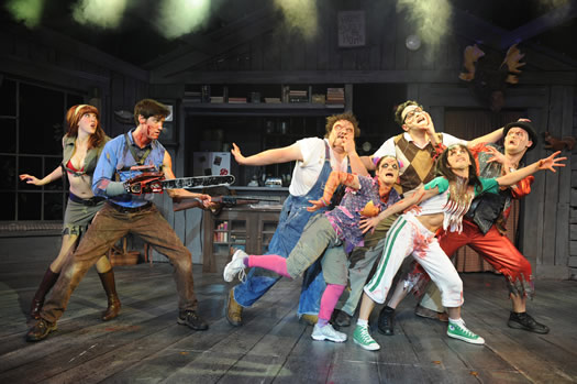 evil dead the musical touring company