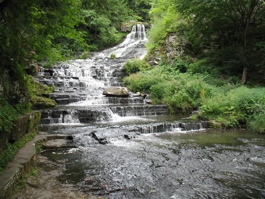 huyck preserve rensselaerville falls
