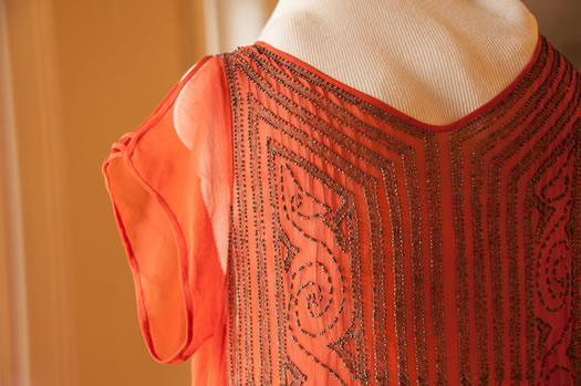 flapper dress detail