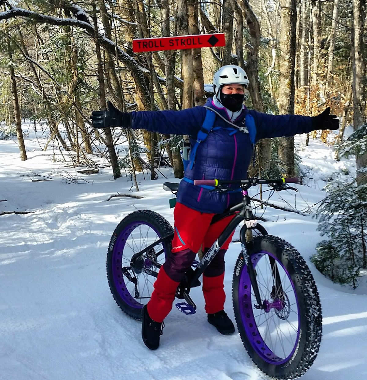 fat bike outerwear Jen Masa