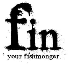 fin fishmonger logo