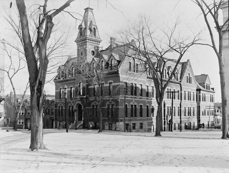 first Albany High School 1900