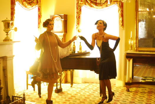 flappers at Ten Broeck Mansion by Nicole Campon