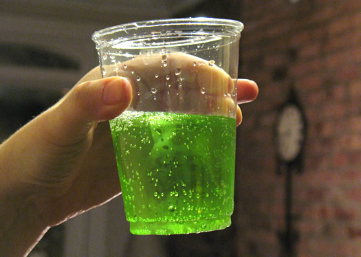 four loko tasting green
