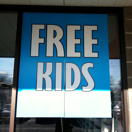 free kids sign