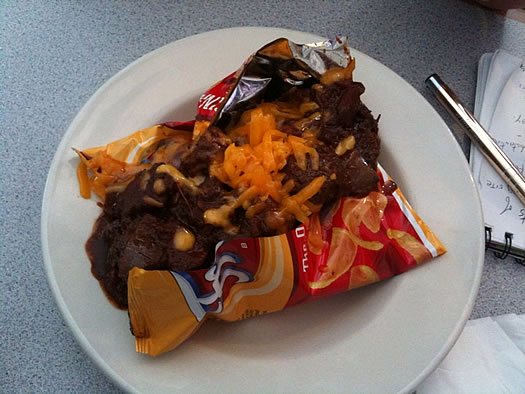 frito pie at wine-n-diner