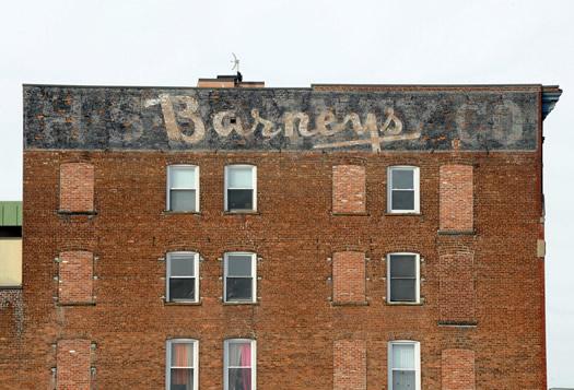 ghost sign in schenectady