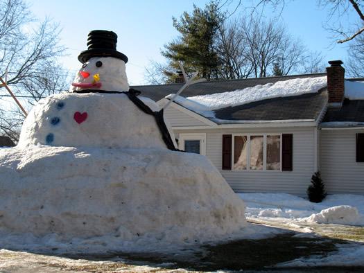 giant guilderland snowman 3