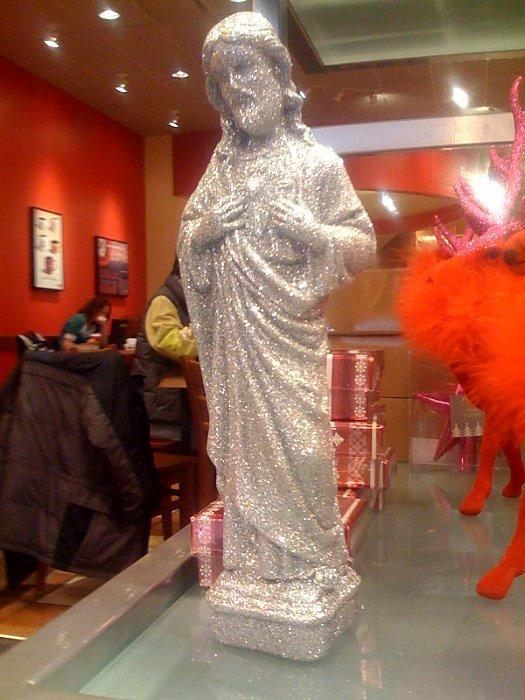 glitter Jesus big