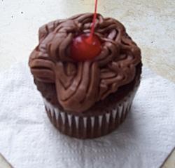 chocolate gluten-free cupcake