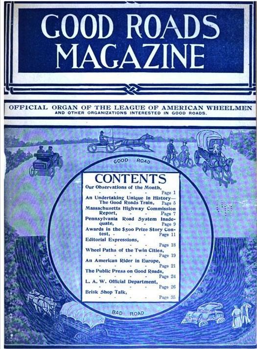 good roads magazine cover