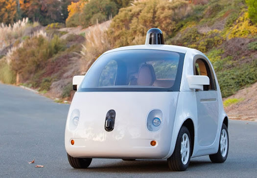 google self driving car prototype 2014