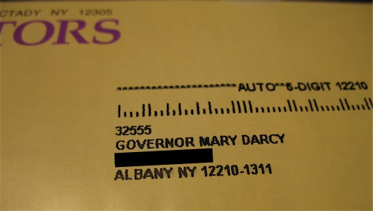 Governor Mary Darcy
