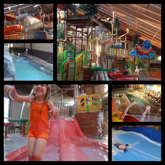 great escape water park interior composite