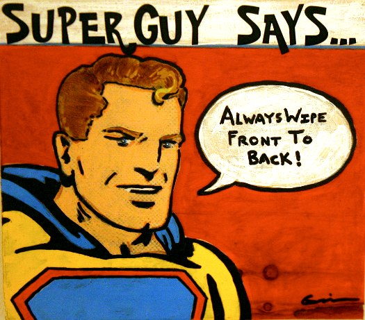 Super Guy by David Geurin