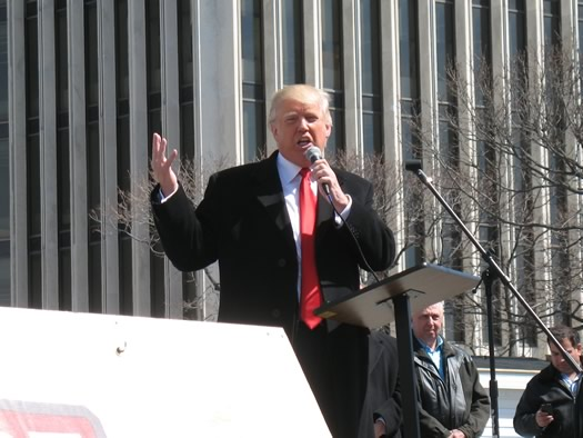 Donald Trump at ESP gun rights rally 2014 April 1