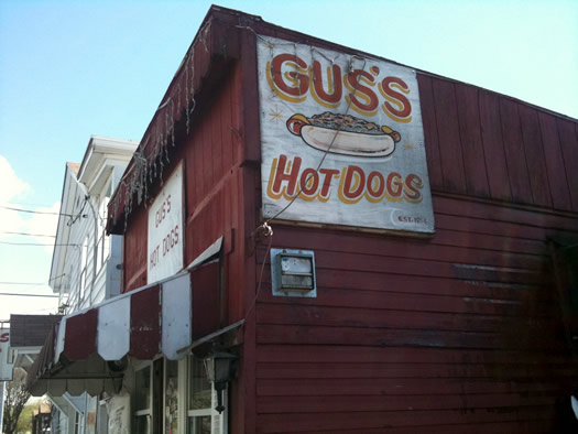 Gus's exterior