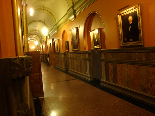 Hall of Governors at NYS Capitol