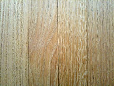 hardwood floor section