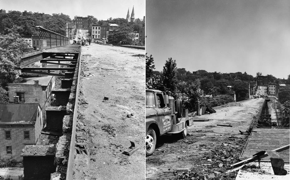 hawk street viaduct demolition 1970
