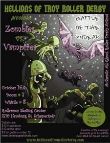 hellions zombies vs vampires bout
