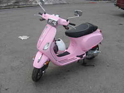 hello kitty vespa