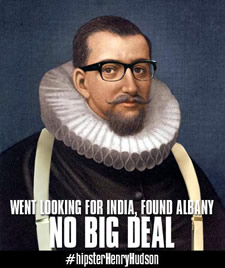 hipster henry hudson by AlbanyArchives