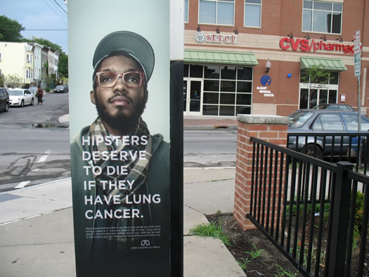 hipsters deserve to die if they have lung cancer