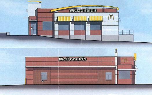 hoosick street mcdonald's rendering