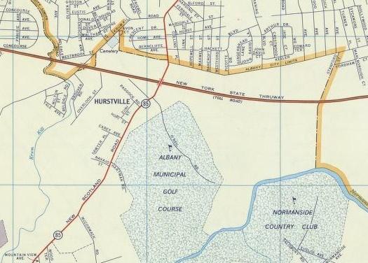 hurstville Bethlehem Albany border 1956