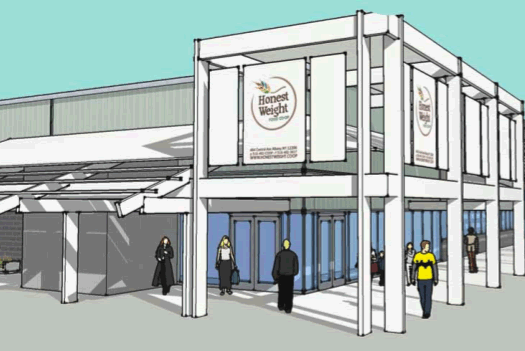 honest weight food co-op new store rendering