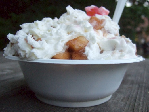 Ice Cream Man Throwdown sundae