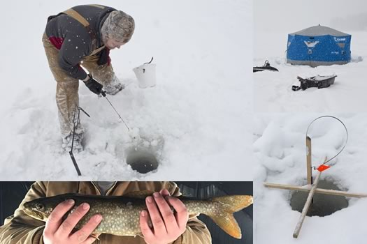 ice fishing composite