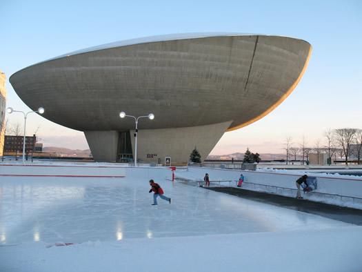 ice skaing rink ESP