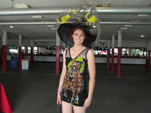 2012 hats Casey Coyle in Frankie Flores dress.jpg