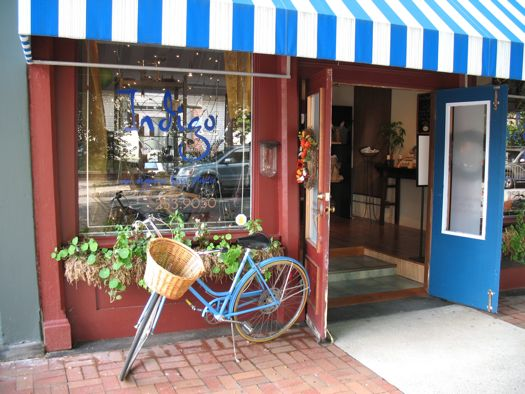 Indigo salon storefront