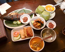 indonesian meal