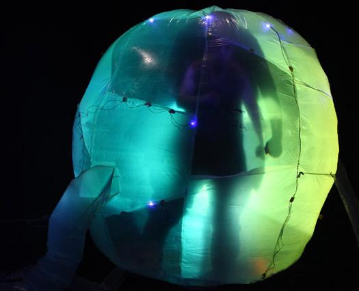 inflatable frankenstein radiohole empac