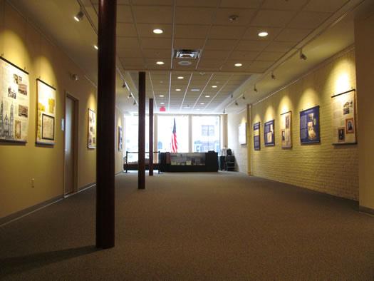 irish american heritage museum interior