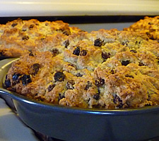 irish soda bread in pans