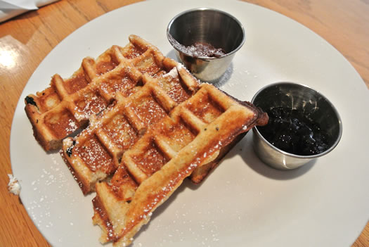 waffle sticks at Iron Roost