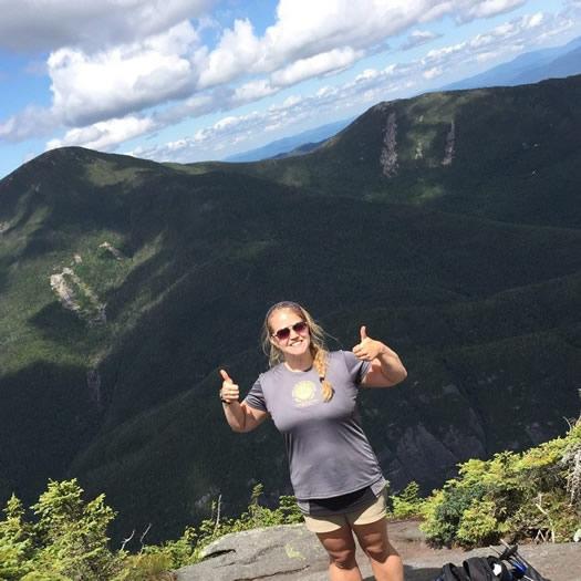 jen is green mountain top