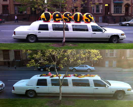 jesus limo before after