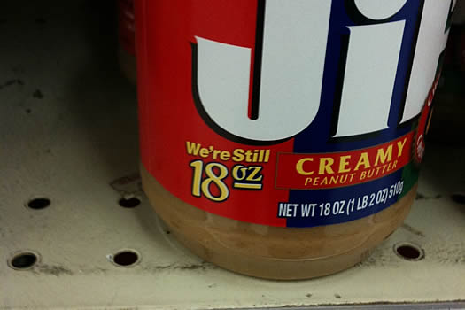 jif jar still 18 oz